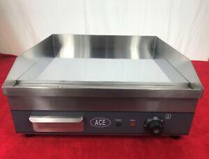 ACE GRIDDLE 50cm Electric *CHROME*- EN64
