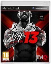 30562// W 13 - WWE 13 - JEU SUR PS3 MAIS SANS SON BLISTER