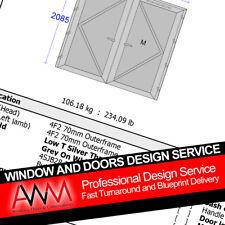 Window and Door Design Service / uPVC / Aluminium / Front Doors / Back Doors