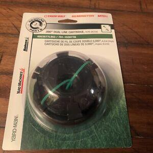 "MTD Genuine Parts .080"" Splitline Trimmer Cartridge"