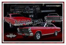 1966 Ford Fairlane Poster Print