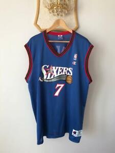 PHILADELPHIA 76ERS SIXERS NBA CHAMPION AUTHENTIC JERSEY VINTAGE TONI KUKOC #7 XL