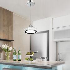 110V LED Pendant Modern Crystal Chandelier Hanging Lamp Ceiling Light Cubical