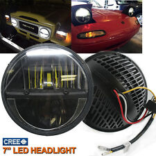 "2x 7"" CREE LED Hi/Lo Headlight For Alfa Rome Chevy G10/20/30,C10/20/30 Jeep JK"