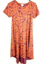 LuLaRoe Carly High Low Dress XXS Knit Pocket Stretch Womens NWT