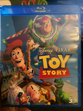 Toy Story 3D Blu Ray Disney Pixar