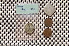 INDIA. George V.   One  Anna 1936.  2 Annas 1918. 1/12 Anna 1923  & 1933.