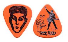 Cheap Trick Rick Nielsen Signature Orange Guitar Pick - 2015 Tour