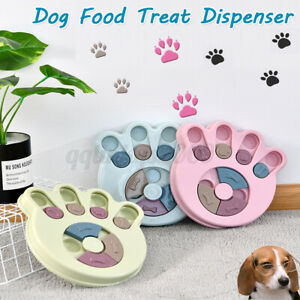 Puppy Treat Dispenser Dog Food Puzzle Toy Interactive Training Feeder Pet Supply