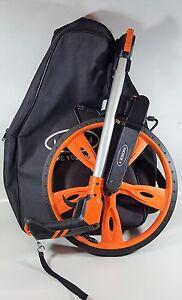 Folding Measuring Wheel WITH Backpack CASE, Trigger Brake & Reset Keson RRT12