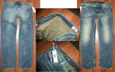NWT $238 MENS DIESEL LARKEE STRAIGHT FIT 0828D DNA MUTATION JEANS SIZE 36X32
