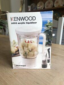 Kenwood Chef A993 Acrylic Liquidiser Attachment BNIB