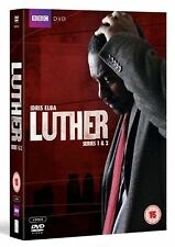 LUTHER - Season 1 2 Complete BBC TV Series DVD Collection Boxset  Extras New DVD