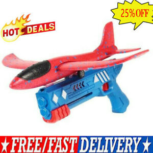 Airplane Launcher Toy, Catapult Plane Gun Outside Flying Launcher Toy Gift 2022