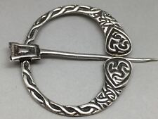 Vintage Scottish Sterling Silver Tara Penannular Brooch Robert Allison