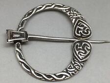 Vintage Scottish Sterling Silver Tara Penannular Brooch Robert Allison