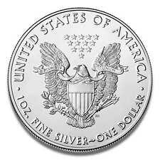1 Onza American Plata Águila 2020 Moneda de Plata 1oz En Kapsel Embalado