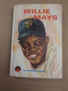 Vintage Baseball 1966 Hardback Book WILLIE MAYS San Francisco Giants ARNOLD HANO