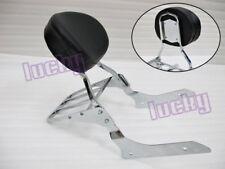 Backrest Sissy Bar for Honda Shadow Aero VT750 400 C C4 C5 RC50 04-12 13 lu#Cr