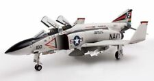 Modellini statici di aerei e veicoli spaziali bianco aereo militare in plastica