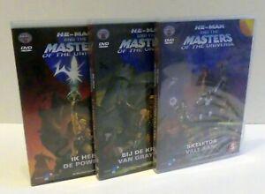 HE-MAN - MASTERS of the UNIVERSE 200x - Niederländische DVD Sammlung