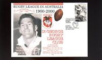 St GEORGE DRAGONS 1900-2000 RUGBY COVER, NORM PROVAN