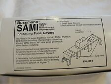 New in box, Bussmann Indicating Fuse Cover, SAMI-41