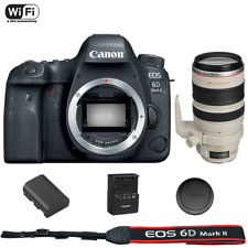 Canon EOS 6D Mark II DSLR Camera Body with EF 28-300mm f/3.5-5.6L IS USM Lens
