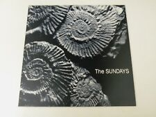 THE SUNDAYS  Reading,Writing And Arithmetic LP ORIGINAL 1990 UK 1ST PRESS NM/EX+