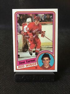 Steve Yzerman 1984 Topps #49 ROOKIE RC NM-MT+ SHARP Corners Grade it! Red Wings