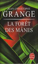 """Livre de Poche Policier Thriller """" La Forêt des Mânes - J. C Grange   """" ( No 8 )"""