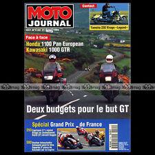 MOTO JOURNAL N°1144 KAWASAKI ZEPHYR 550 GTR 1000 HONDA ST 1100 BIMOTA BB1 1994
