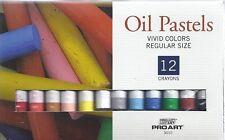 OIL PASTELS ~ 12 COLOR PASTEL SET ~ NEW!