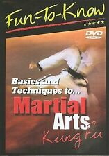 FUN To KNOW: Basics and Techniques To Martial Arts - KUNG FU DVD - New, sealed!