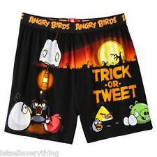 NEW ANGRY BIRDS HALLOWEEN TRICK or TWEET Boxer Shorts Underwear Men S 28-30