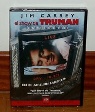 THE SHOW OF TRUMAN-DVD-NUEVO-NEW-SEALED-JIM CARREY-COMEDY- (UNOPENED) - R2