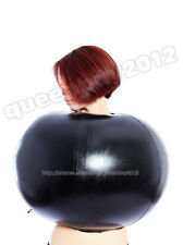 100% Latex Rubber Gummi 0.8mm Inflatable Top Ball Catsuit Suit Blowup Body