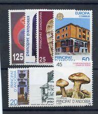 SPANISH ANDORRA  Sc  202-7,09(SG 212-7)(ED 215-20,22)**F-VF NH $17