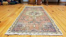 """Vintage Turkish Tribal Rug 1'7"""" × 3'5"""""""