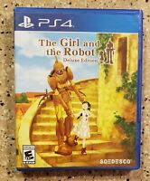 Awesome playstation 4 PS4 game The Girl and the Robot Deluxe edition Complete