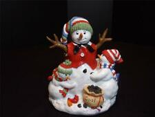 """Fitz & Floyd Musical Snowman - Plays """"We Wish You A Merry Christmas"""""""