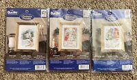 3 Bucilla Counted Cross Stitch Size 4x6 Christmas Promises Religious Emmanuel