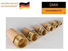 "IQS Pneumatik Schalldämpfer Sinterbronze mit Messinggewinde M6 1/8"" 1/4"" Zoll"