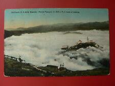Cartolina GENOVA SANTUARIO N.S. DELLA GUARDIA, MONTE FIGOGNA NELLA NEBBIA   2/17