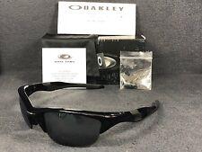Oakley Half Jacket 2.0 OO9144-01 Polished Black / Black Iridium 62mm Sunglasses