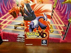 Pokemon xd Nintendo Game cube Manual only no game or box rare