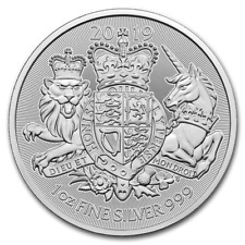 2019 Great Britain The Royal Arms- 1 oz. 999 Pure Silver Coin ~ fresh from tube