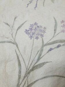 Croscill bedding queen comforter  floral purple pink textured