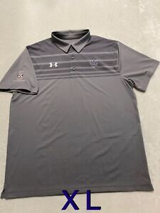 Auburn Tigers Team Issued Player Issued Under Armour XL T-Shirt Polo