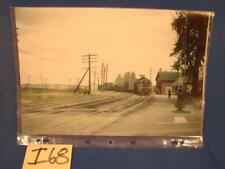 I68 VINTAGE MELVIN GEORGE COLLECTION PRINT #1151 D&H ROUSES POINT NY